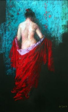 The Red Gown  Judy Drew