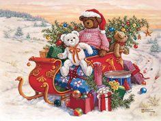 Bear's Sleigh Ride by Janet Kruskamp