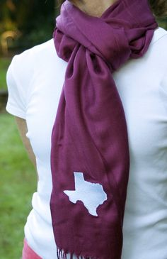 Texas Aggie scarf for the fall & winter!