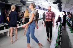 #runthrough GYUNEL #SS16 #LFW #LondonFashionWeek #Models #ModelLife #Beauty