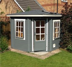 The Ingrid Log Cabin adapted by a clever customer and an inspiration for a new UK building.