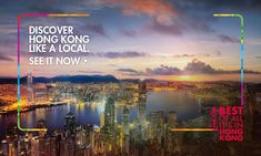 Discover Hong Kong - Official Travel Guide from the Hong Kong Tourism Board Hong Kong Tourism Board, Discover Hong Kong, Sustainable Environment, Tourist Information, Group Of Companies, Top Travel Destinations, Like A Local, Virtual Tour, Tour Guide