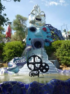 want a Niki de Saint Phalle garden fountain