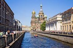 Church of the Spilled Blood in St. Petersburg, Russia