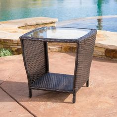 a08190f87ec7 Outdoor Best Selling Home Decor Furniture Theron End Table - 238404 Wicker  Side Table