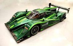 The Lola Drayson B12/67EV is Fit for the Green Lantern #Daytona500 #Cars