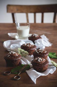 Muffins alla banana e cacao