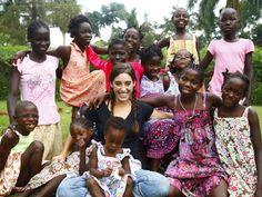 Katie Davis & her girls, Uganda.