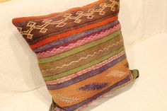 Kilim Pillow Cover Sivas Kilim FREE Shipping by turkishkilimcenter