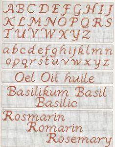 Resultado de imagem para monograma em ponto cruz