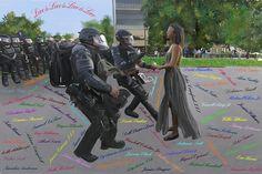 Love is Love is Love is Love — Modern Art- BMP Fine Art & Photography
