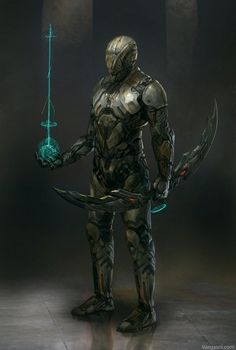 Sci-fi Archer, Randy Vargas (vargasni) on ArtStation at https://www.artstation.com/artwork/sci-fi-archer
