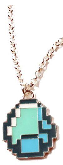 Minecraft Diamond Pendant Necklace Only $4.47 + FREE Shipping (Reg. $10)!