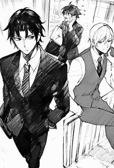 Ichinose Guren, Hyakuya Yuichiro and Hiiragi Shinya