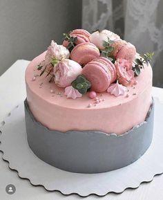 Date and nut cake - HQ Recipes Beautiful Birthday Cakes, Beautiful Cakes, Amazing Cakes, Pretty Cakes, Cute Cakes, Yummy Cakes, Cute Desserts, Delicious Desserts, Birthday Cake Decorating
