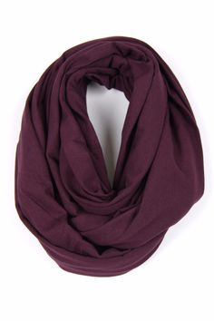 Large Circle Scarf 24 inches wide x 72 inches round Lightweight Cotton Jersey Raw Edge, Naturally Rolled