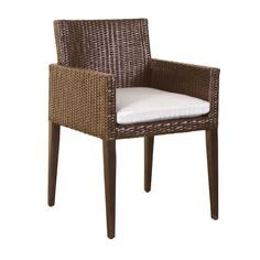 Bali Collection arnchair in brown color natural rattan by iBalDesigns, Bali