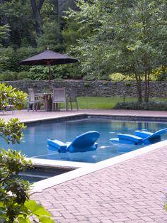 Landscape pool and spa design
