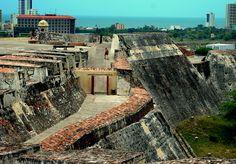 Castillo de San Felipe de Barajas, Colombia | by Michael McDonough, via Flickr