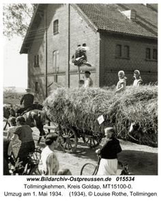 Tollmingen, Umzug am 1. Mai 1934 Volga Germans, 1 Mai, German People, Prussia, Lithuania, Germany, Boat, History, City