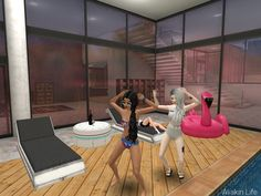 Avakin Life, Basketball Court, Characters