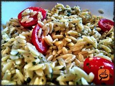 Orzo pesto salad recipe