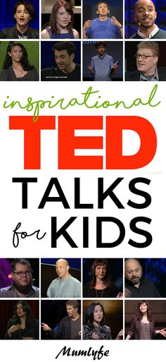 Inspirational TED TALKS for KIDS