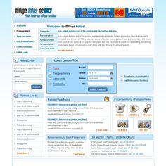Redesign for price comparison website
