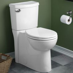 Cadet 3 Flowise Right Height Round Front Concealed Trapway 1.28 gpf Toilet (Alternate Image)