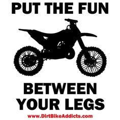 Dirt bike fun! ;) hehe