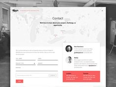 One of the discarded designs for our new contact page. Form Design Web, Web Design Black, Creative Web Design, Contact Us Page Design, Contact Page, Contact Form, Learn Html And Css, Ui Web, Web Layout