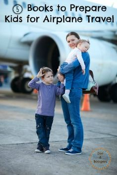Books to Prepare Kids for Airplane Travel