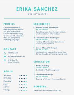 80 Best Resume Ideas images | Creative resume templates, Resume ...