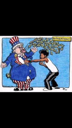 Reparation : a making up or payment for a wrong or damage done, especially in the case of an international war