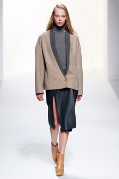 Who Won PFW? It's A 41-Way Tie #refinery29  http://www.refinery29.com/paris-fashion-week#slide12  Styling tip: The blazer-over-skirt look works every day. Thanks, Chalayan!