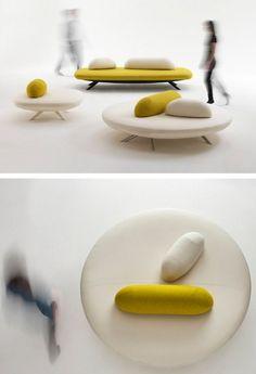 FLORES bench by Segis   #design Bartoli Design #interiors