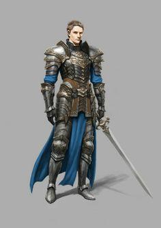 Cavaleiro humano, armadura, espada, guerreiro, nobre