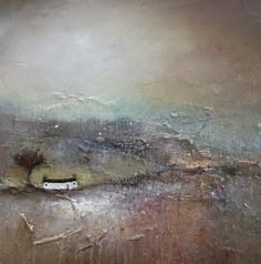 Autumn Fells - Original, Oil & Mixed Media on Wood - Art Espoir, Hope Art, International Artist, Original Art, Abstract Art, Art Gallery, Lisa, Artwork, Painting