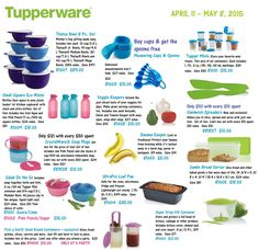 Tupperware Sale ending May 2015 Mini Store, Tupperware, Bowl Set, Mother Day Gifts, Make It Simple, Boss, Products, Tub, Beauty Products