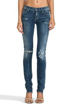 Distressed jeans are in/ Citizen of Humanity