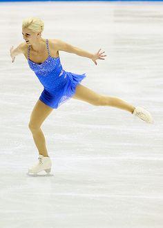 Viktoria Helgesson, 2011 SP-Blue Figure Skating / Ice Skating dress inspiration for Sk8 Gr8 Designs.