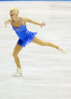 Viktoria Helgesson, 2011 SP-Blue Figure Skating / Ice Skating dress inspiration for Sk8 Gr8 Designs.