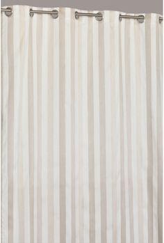 Jacquard Vorhang Mehrfarbig mit Satin-Streifen