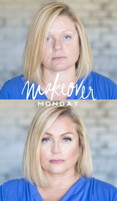 Makeover Monday - Kat (Over 40 Series) - pinned from Maskcara Beauty Over 40, Beauty Make Up, Top Beauty, Beauty Secrets, Beauty Hacks, Beauty Products, Sephora Makeover, Maskcara Beauty, Maskcara Makeup