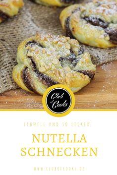 Für alle Nutella-Liebhaber muss nach dem Wort Nutella gar nicht mehr viel kommen, denn: es wird eh schmecken! Wenn es dann eine Kombination wie Nutella und Blätterteig ist läuft einem schon beim Zugucken das Wasser im Mund zusammen- also unbedingt nachmachen! Viel Spaß mit dem Rezept!