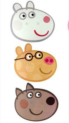 Fiestas Peppa Pig, Cumple Peppa Pig, Pig Birthday, Boy First Birthday, Pig Cupcakes, Pig Character, Alice, Pig Party, Ideas Para