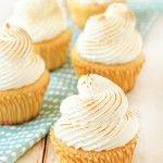 Lemon Meringue Cupcakes Recipe | My Baking Addiction