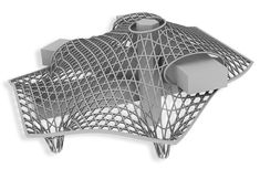 The process of the pompidou metz. Dynamic Architecture, Parametric Architecture, Parametric Design, Organic Architecture, Garden Architecture, Futuristic Architecture, Concept Architecture, Amazing Architecture, Architecture Design