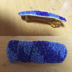Hair clip made by me .