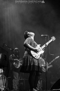 Alabama Shakes!!  This girl leaves her heart On the stage!!  She have me goosebumps.